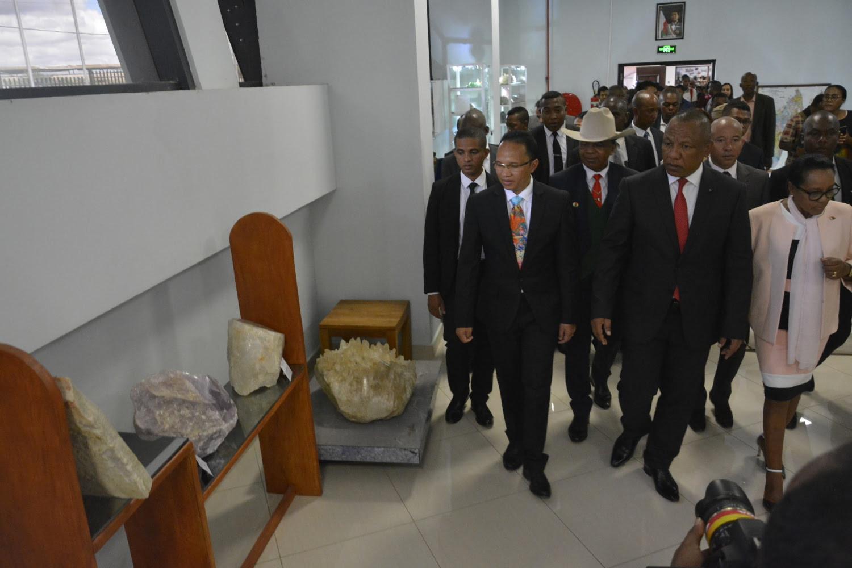 Inauguration Galerie Des Mines De Madagascar - 4
