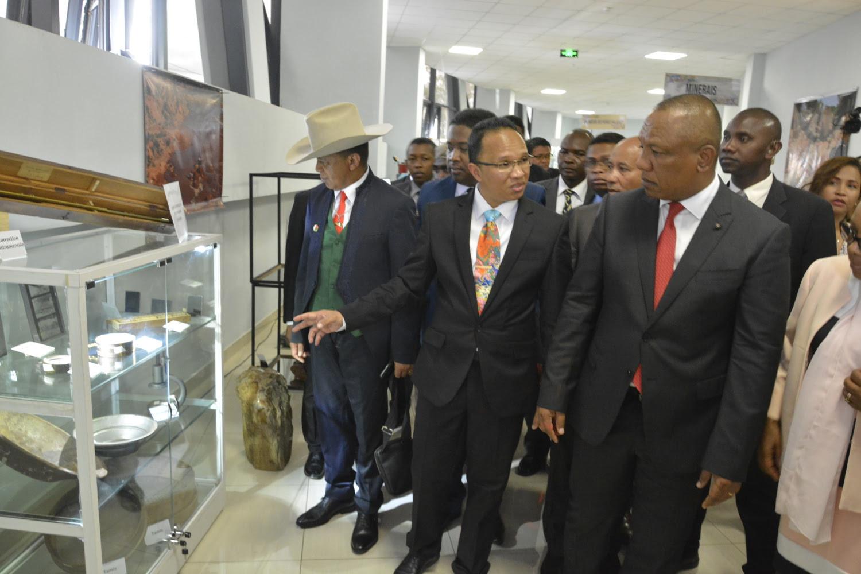 Inauguration Galerie Des Mines De Madagascar - 5
