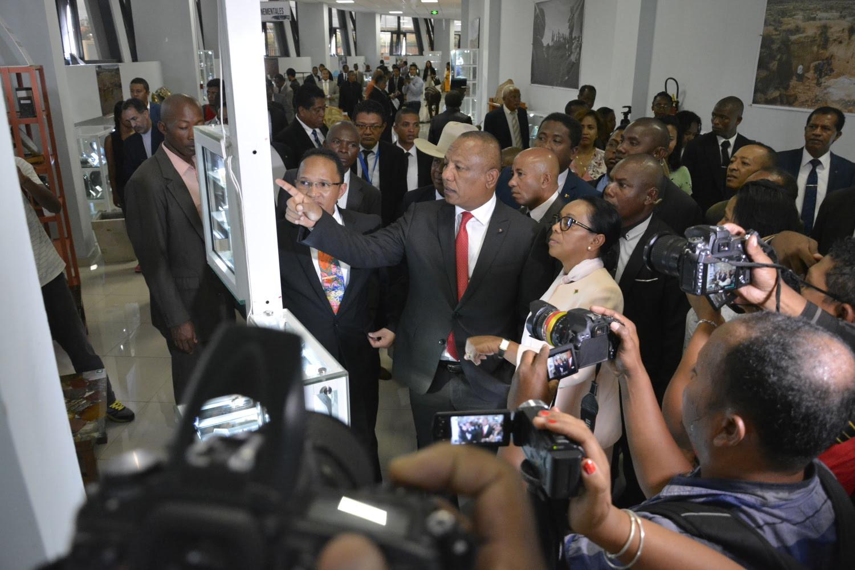 Inauguration Galerie Des Mines De Madagascar - 6