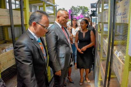 Inauguration Lithothèque De Madagascar - 2
