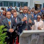 Inauguration de la Lithothèque de Madagascar