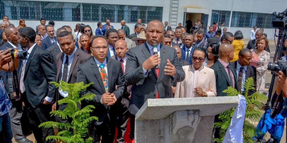 Cover - Inauguration Lithothèque de Madagascar - 1